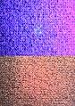 Sperma unter UV-Licht und ohne UV-Licht (Semen with and without Ultraviolet).JPG