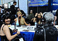 Spice radio on Sirius FM live from the 2011 AEE.jpg