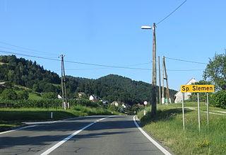 Spodnji Slemen Place in Styria, Slovenia
