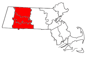 Springfield metropolitan area, Massachusetts - Counties of the Springfield, MA Metropolitan Statistical Area