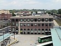 Springfield Union Station from parking garage, August 2018.JPG