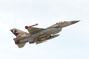 115 Squadron (Israel) - F-16A of Squadron 115