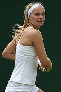 Rebecca Šramková Slovak tennis player