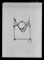 Stångbett av förtent stål, troligen för vagnshäst. 1600-tal - Livrustkammaren - 9076.tif
