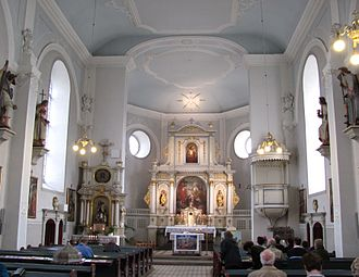 Groß Düngen - Image: St. Cosmas und Damian Kirche (Groß Düngen)interior
