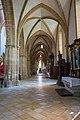 St. Blasius Regensburg Albertus-Magnus-Platz 1 D-3-62-000-24 59 Südliches Seitenschiff Blick nach Osten.jpg