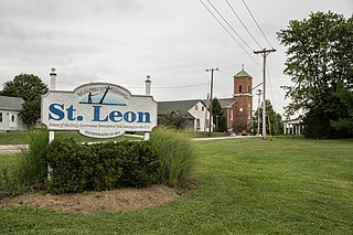 St. Leon, Indiana Town in Indiana, United States