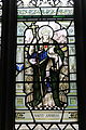St Anselm (Stained glass, Chester Cathedral).JPG