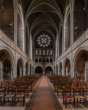 St Augustine's, Kilburn - Image: St Augustine's Church, Kilburn Interior 3, London, UK Diliff