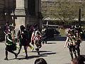 St George's Day morris dancers - St Philip's Cathedral, Birmingham (17269271495).jpg