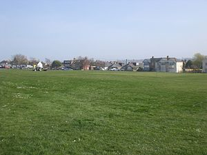 St Helens, Isle of Wight - Part of St Helens village green.