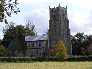 Bressingham - Image: St John the Baptist,Bressingham geograph.org.uk 1024930