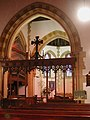 St John the Evangelist, Moggerhanger, Beds - Chancel - geograph.org.uk - 329954.jpg