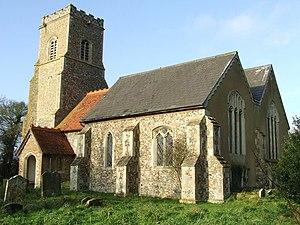 Somerton, Suffolk - Image: St Margaret Somerton geograph.org.uk 1089123