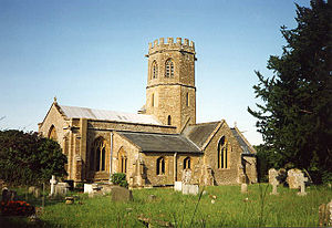 Barrington, Somerset - Image: St Mary church Barrington