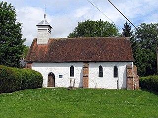 St Nicholas Church, Freefolk Church in Hampshire, England