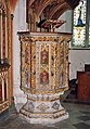 St Peter, St Paul and St Thomas of Canterbury, Bovey Tracey, Devon - Pulpit - geograph.org.uk - 1730479.jpg