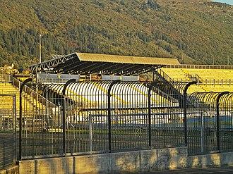 Stadio Lungobisenzio - Image: Stadium Prato 04