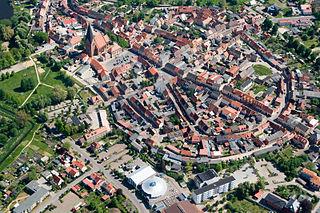 Röbel Place in Mecklenburg-Vorpommern, Germany