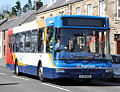 Stagecoach bus 22507 (SP56 AGU) 2007 MAN 18.220 East Lancs Kinetec, Auchterarder, 1 May 2011.jpg
