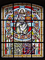 Stained-glass window in Church of the Nativity of the Virgin Mary in Mińsk Mazowiecki - 11.jpg
