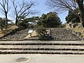 Stairs near site of Ura-Gomon Gate of Hiroshima Castle.jpg