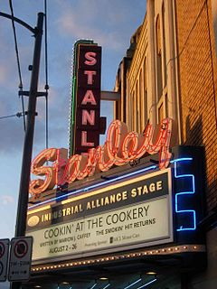Stanley Industrial Alliance Stage theatre and former cinema in Vancouver, British Columbia, Canada