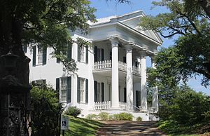 History of Natchez, Mississippi - Another Natchez antebellum home available for tours is Stanton Hall, built c. 1858 and located on a whole city block at 401 High Street.