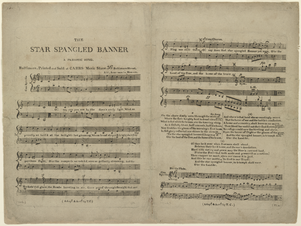 The Star Spangled Banner Wikipedia