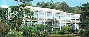 History of Seychelles - Victoria's State House in the 1970s