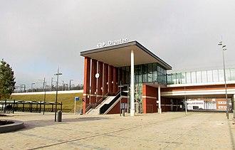 Dronten railway station - Image: Station Dronten