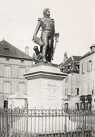 Marcellin Marbot - Statue of General Marbot in Beaulieu-sur-Dordogne