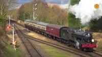 File:Steam trains at Quorn and Woodhouse station, G.C.R - January 2017..webm