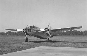 Stearman XA-21 - Front view