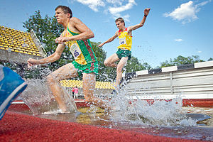 Steeplechase (athletics) - Steeplechase at the 2014 Lithuanian Championships in Athletics