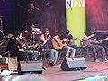 Stefanie Heinzmann LIVE mit Band 2009 auf der BUGA in Schwerin 03.jpg