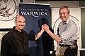 Stelarc and Kevin Warwick 2011b.jpg
