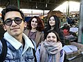 Stepanakert wikiclub members.jpg