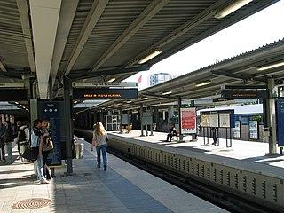 Vällingby metro station Stockholm Metro station