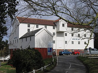 Reckitt Benckiser - Stoke Holy Cross Mill, in Norwich, England, the home of Colman's mustard from 1814 to 1862