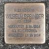 Stolpersteine für Wilhelm Springer