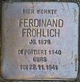 Stolperstein Karlsruhe Fröhlich Ferdinand.jpeg