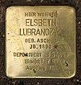 Stolperstein Martin-Luther-Str 42 (Schön) Elsbeth Lubranczyk.jpg