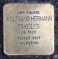 Stolperstein Meinekestr 3 (Charl) Wolfgang Hermann Eskeles.jpg