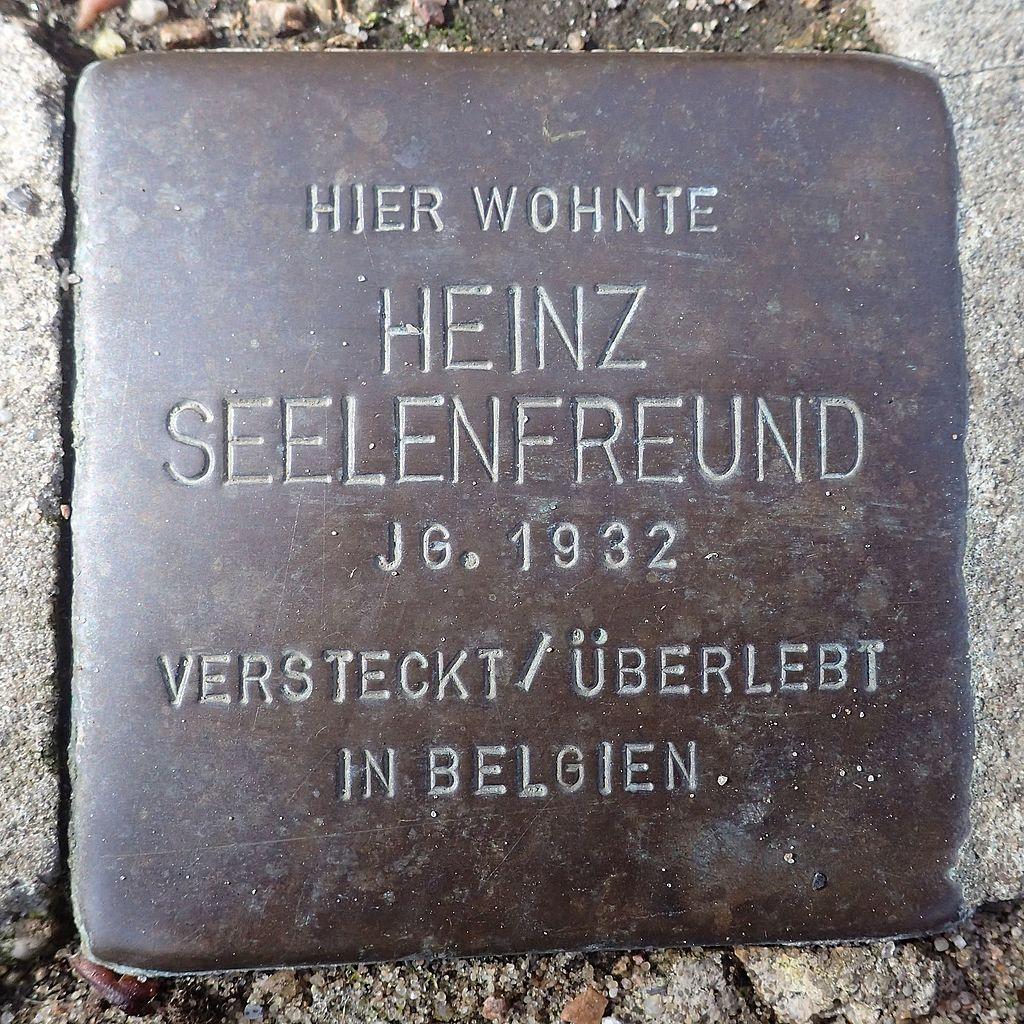 Stolperstein Rendsburg Provianthausstraße 5 Heinz Seelenfreund.jpg