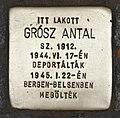 Stolperstein für Antal Grosz (Kiskunhalas).jpg