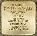 Stolperstein für Camille Francois Venayre (Libourne).jpg