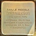 Stolperstein für Dora Balkanyi (Lendava).jpg
