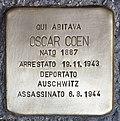 Stolperstein für Oscar Coen (Padua).jpg