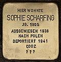 Stolperstein für Sophie Scharfing (Cottbus).jpg